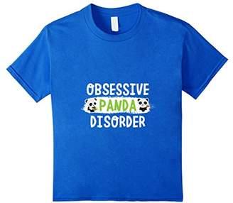 Cute Obsessive Panda Bear Disorder T-Shirt | Premium Design