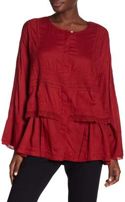 IRO Long Sleeve Knit Tunic