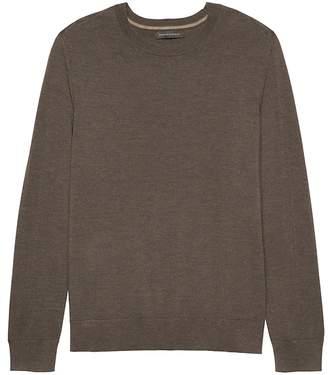 Banana Republic Extra-Fine Italian Merino Wool Crew-Neck Sweater