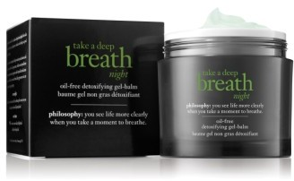 Philosophy Take A Deep Breath Oil-Free Detoxifying Night Balm $45 thestylecure.com