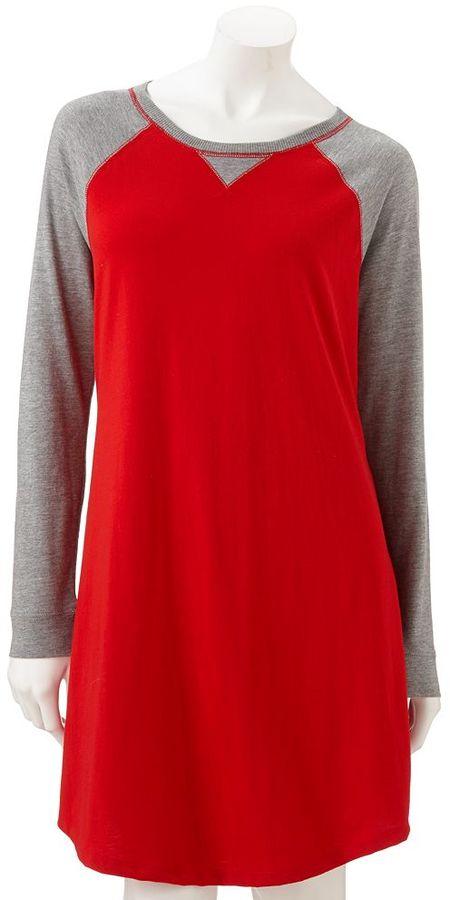 Sonoma life + style ® knit sleep shirt