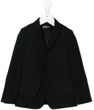 DSQUARED2 vest detail blazer