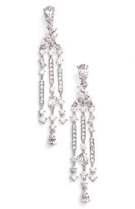 Nadri Ava Crystal Chandelier Earrings