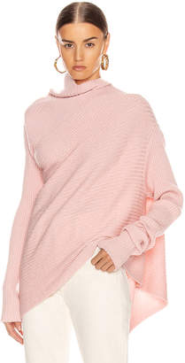 Marques Almeida Marques ' Almeida Draped Sweater in Pink | FWRD