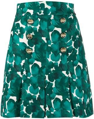 Elisabetta Franchi floral print short skirt