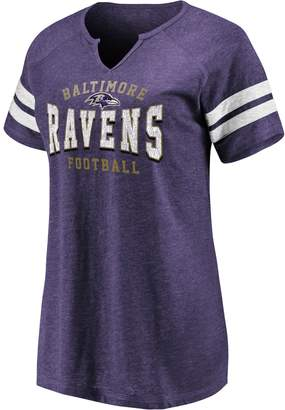 Nfl Women's NFL Baltimore Ravens Short Sleeve V-Neck Tee