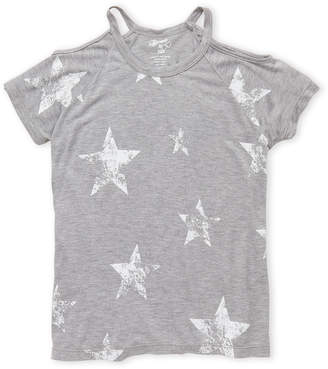 Flowers by Zoe Girls 7-16) Star Cutout Raglan Tee