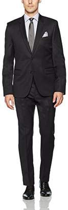HUGO BOSS Hugo by Men's 2 Button Contemporary Slim Fit Suit