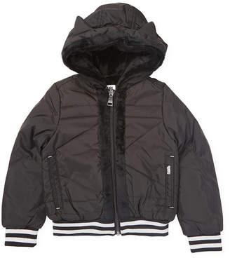 Karl Lagerfeld Trimmed Hooded Jacket