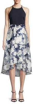 Eliza J Halter High-Low Dress