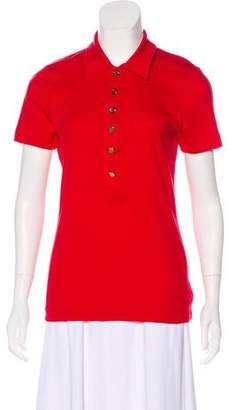 Tory Burch Button-Dow Polo Shirt