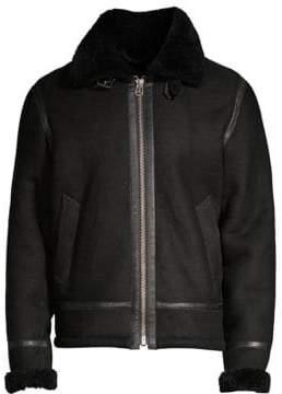 Rag & Bone Shearling Flight Jacket
