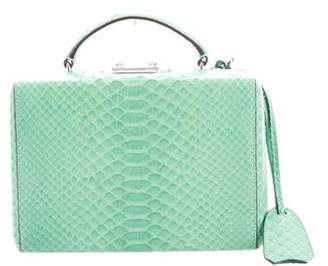 Mark Cross Python Grace Box Bag