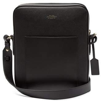Smythson Panama Reporter leather cross-body bag