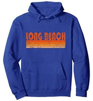 Vintage Retro Long Beach CA Hoodie