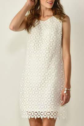 Paige Charlie Layered-Textured White Dress