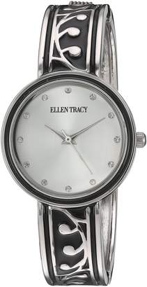 Ellen Tracy Women's ET5231SLBK Analog Display Analog Quartz Watch