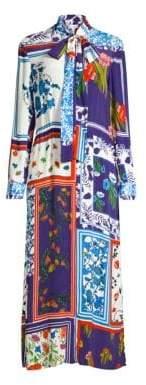 Escada Sport Mixed Floral Maxi Dress