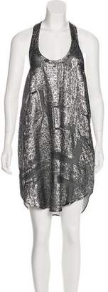 Isabel Marant Silk-Blend Midi Dress