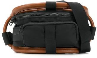 Y/Project fabric mix belt bag