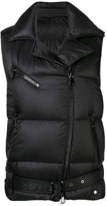 Moncler sleeveless puffer jacket