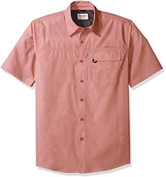 Wrangler Authentics Men's Short Sleeve Hiker Utility Shirt