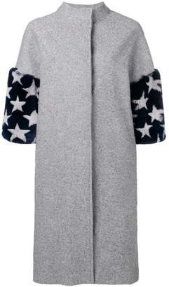 Ava Adore star print coat