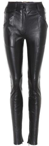 Saint LaurentSaint Laurent Leather skinny trousers