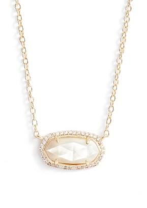 Women's Kendra Scott Elisa Pave Pendant Necklace $80 thestylecure.com