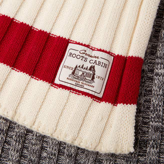 Roots Cabin Sweater Throw