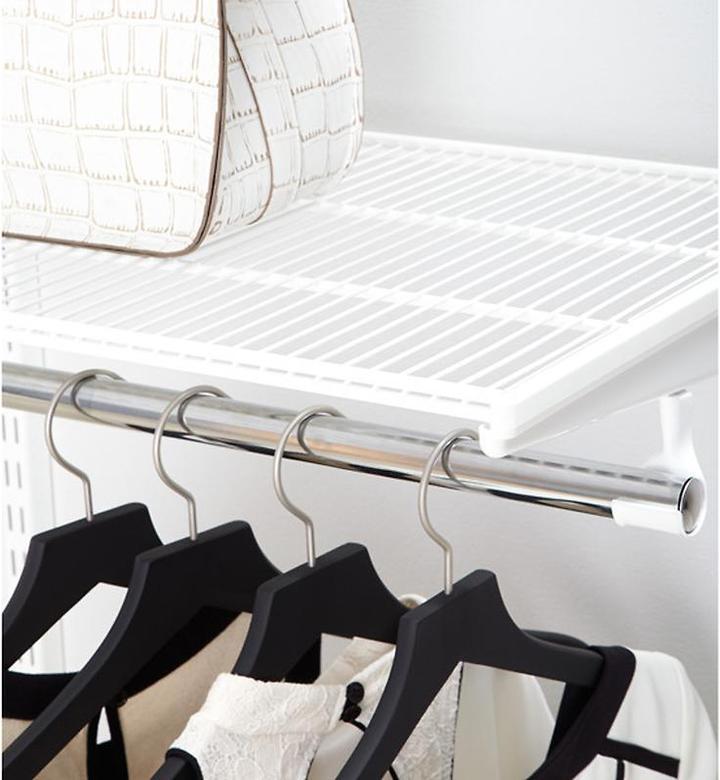 "Elfa 20"" x 3' Ventilated Shelf White"