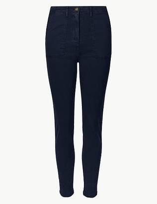Marks and Spencer High Waist Skinny Leg Trousers