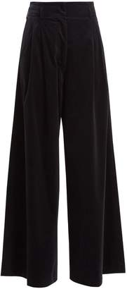 Vanessa Bruno Heaston wide-leg stretch-cotton corduroy trousers