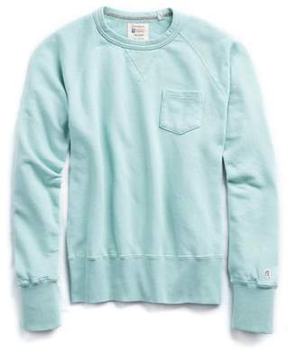 Todd Snyder + Champion Classic Pocket Sweatshirt in Vintage Aqua