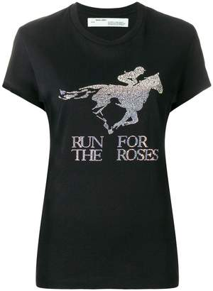 Off-White 'Run for the Horses' T-shirt