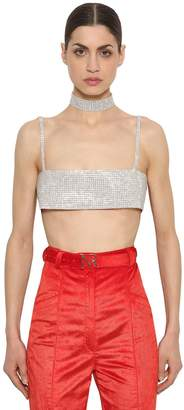 Nina Ricci Crystal Crop Top