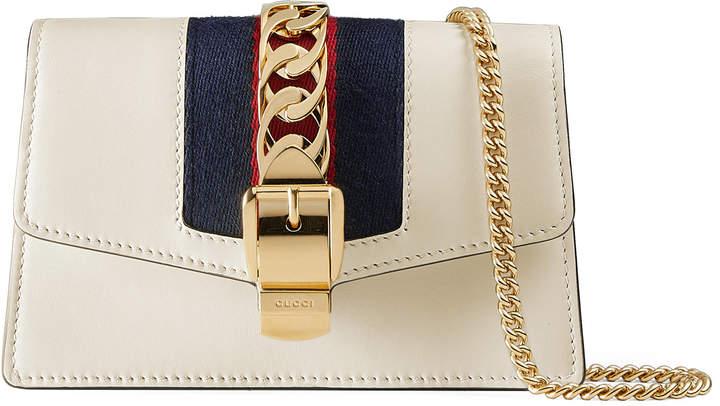 Sylvie leather mini chain bag