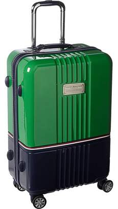 Tommy Hilfiger Duo Chrome 24 Upright Suitcase Carry on Luggage