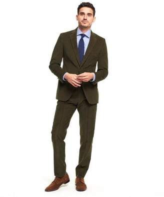 Todd Snyder Black Label Made in the USA Sutton Corduroy Suit Jacket in Olive