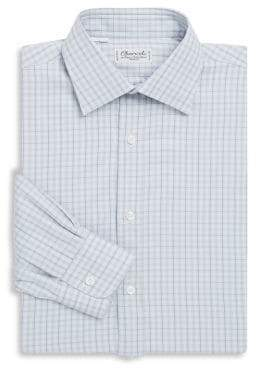 Charvet Regular-Fit Plaid Dress Shirt