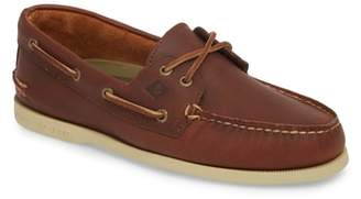 Sperry Cross Lace Pull-Up Boat Shoe