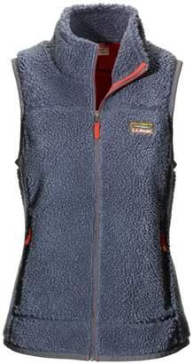 L.L. Bean L.L.Bean Mountain Pile Fleece Vest, Misses