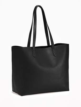 Faux-Leather Tote for Women $34.99 thestylecure.com