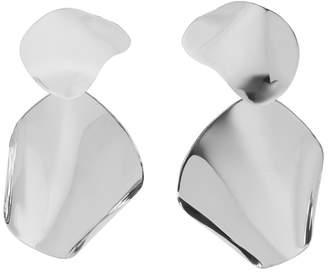 Faris Silver Drape Earrings