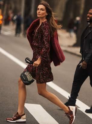 MICHAEL Michael Kors Paisley Textured Dress