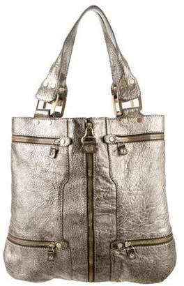 Jimmy Choo Metallic Tote Bag