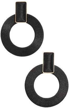 BaubleBar Marisela Hoop Drop Earrings