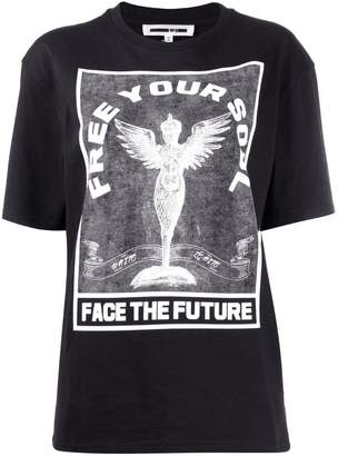 McQ 'Free your soul' printed T-shirt