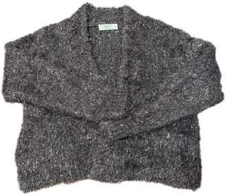 Blumarine Silver Wool Knitwear for Women