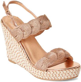 e906c688605 Gc Shoes Rose Gold Bonnie Platform Wedge Sandals